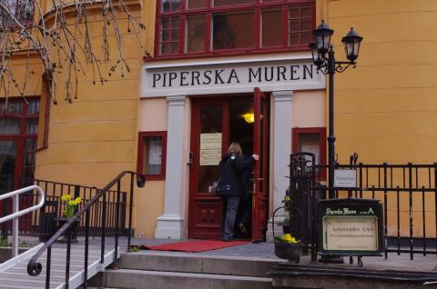 Jubileumskonferensen och årsmöten hölls på Piperska muren i Stockholm.
